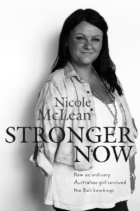 Stronger Now by Nicole McLean (Pan Macmillan, 2016)